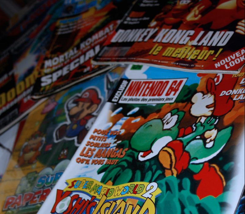 Magazines retrogaming
