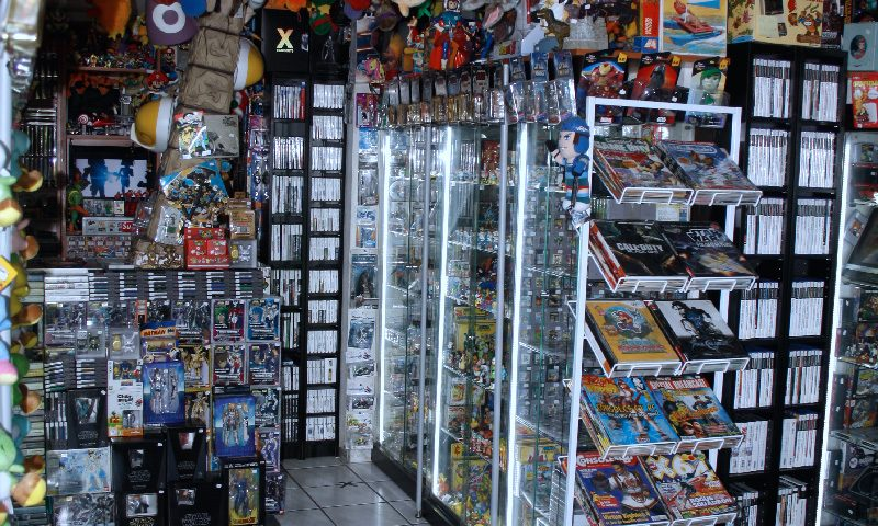 Boutique rétrogaming Little Tokyo
