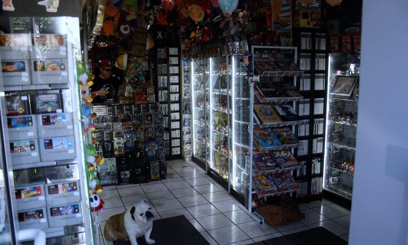 Boutique retrogaming Little Tokyo