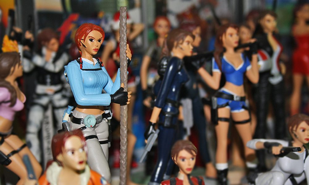Figurines retrogaming