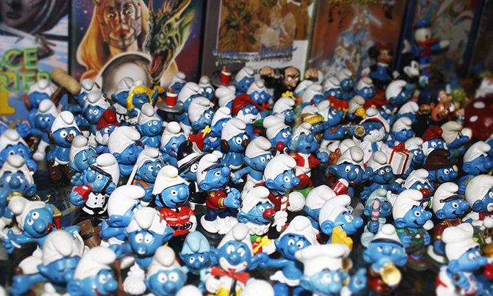 Figurines Schtroumf