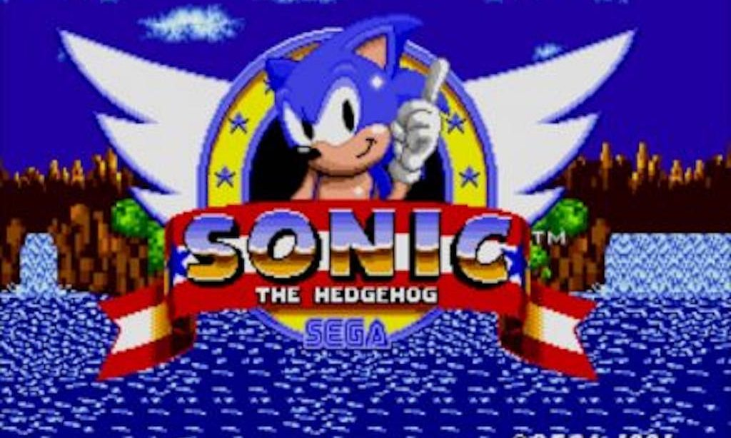 Sega Sonic the Hedgehog 1