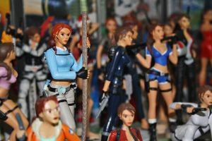 Figurines retrogaming
